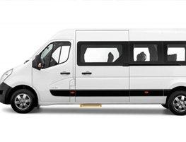 16 seater Minibus Hire Lincoln